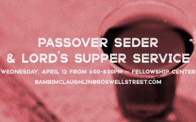 Passover Seder Service