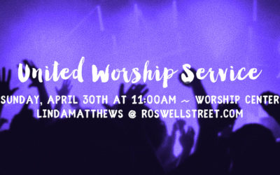 A United Worship Service!