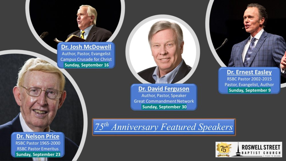 75th Anniversary Speaker Series