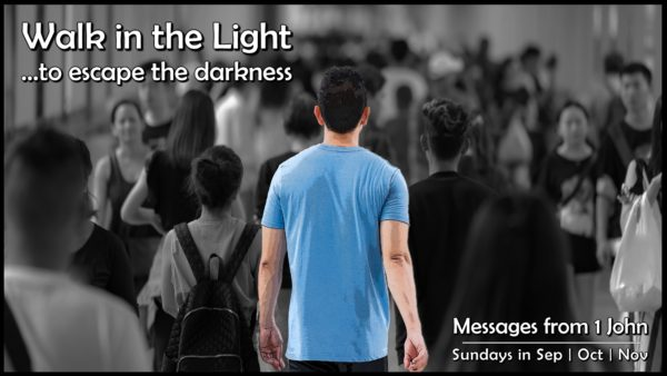 WALK IN THE LIGHT - With Fresh Encounters With Jesus Image